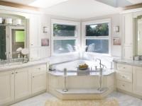 Угловая ванная: фото обзор, преимущества, виды и характеристики