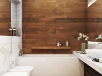 Стены в ванной: ТОП-120 фото новинок идеально оформленных стен в ванной комнате