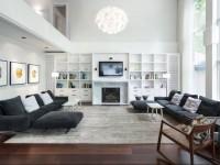 Большая гостиная — 100 фото идей как оформить красивый дизайн просторной гостиной