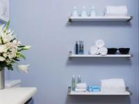 Полка для ванной — 70 фото размещения полок в интерьере ванной комнаты