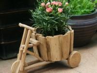 Декор цветочных горшков — 55 фото идей для украшения интерьера