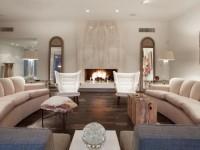 Гостиная с камином — фото оформления безупречного дизайна гостиной с камином