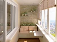 Оформление балкона — фото новинки современных тенденций в оформлении балконов