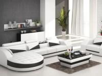 Мягкая мебель для гостиной — фото модных тенденций в интерьере