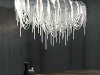 Современные люстры — фото идеи правильного освещения в интерьере