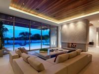 Потолок в гостиной — фото современных вариантов отделки потолка в гостиной (65 идей)