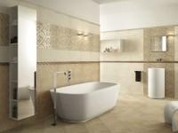 Плитка для ванной комнаты — современные новинки и фото идей для интерьера