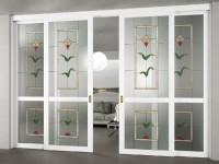 Декорирование дверей — лучшие фото идеи от дизайнеров