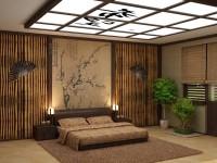 Спальня в японском стиле — фото лучших идей для оформления комфортной атмосферы релакса в спальне