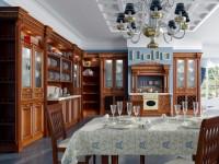 Кухня в стиле ампир — 80 фото и описание стиля