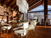 Гостиная в стиле шале — особенности стиля и фото уютного дизайна