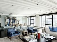 Гостиная в стиле лофт — 25 невероятных идей дизайна на 110 фото