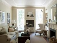 Гостиная с двумя окнами: 60 фото вариантов стильного оформления