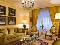 Желтая гостиная — 80 фото вариантов идеального сочетания гостиной желтого цвета