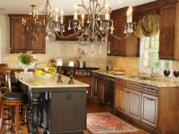 Кухня в колониальном стиле — нестандартное решение современного дизайна (65 фото)