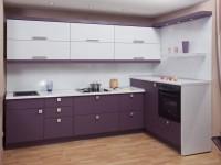 Кухня сиреневого цвета — оформляем стильный дизайн со вкусом (60 реальных фото)
