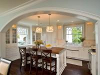 Арка на кухню: варианты оформления, советы дизайнеров, фото примеры!