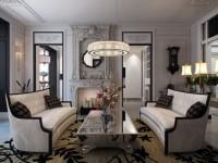 Серая гостиная — 65 фото лучших дизайнов гостиной оформленной в серых тонах