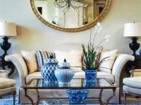 Зеркала в гостиной — особенности стильного оформления на 80 фото