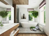 Дизайн ванной 2019-2020 годов — 150 фото элегантного оформления в современном стиле