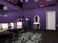 Фиолетовая гостиная — практические советы идеального сочетания (77 фото)