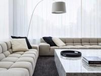 Гостиная в стиле минимализм — 105 фото лучших дизайнерских идей
