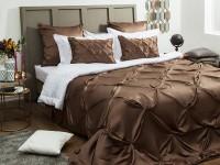 Коричневая спальня — эффектный дизайн с умом! (97 фото)