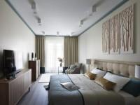 Длинная спальня — какой дизайн выбрать? 55 фото идей оформления