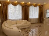 Ламбрекены в гостиную — 70 фото шикарного оформления в интерьере