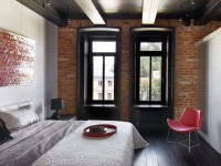 Спальня 20 кв. м. — фото красивого интерьера