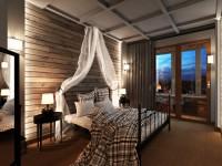Спальня в стиле лофт — 65 фото идей оформления
