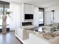 Телевизор в гостиной — 60 фото идеального размещения в интерьере
