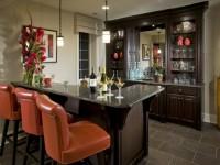 Барная стойка в гостиной — практичные идеи оформления в интерьере на 80 фото