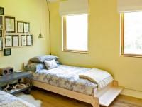 Желтая спальня — фото идеального сочетания желтого цвета в интерьере