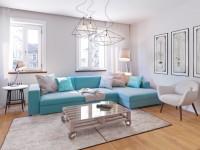 Гостиная в светлых тонах — хитрости дизайнеров как создать цветовую гармонию (70 фото)
