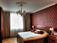 Бордовая спальня — варианты лучшего сочетания бордового цвета в интерьере (78 фото)