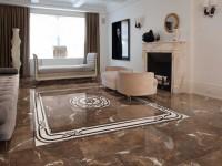 Плитка в гостиной: фото-обзор лучших вариантов в интерьере