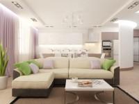 Проходная гостиная — нестандартные варианты оформления дизайна (50 фото идей)