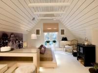 Спальня на мансарде — 70 фото оригинальных идей дизайна. Обзор достоинств такой спальни!