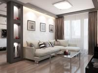 Как оформить интерьер проходной гостиной?