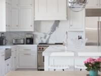 Столешницы для белых кухонь