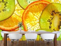 3D обои для кухни: самые лучшие идеи оформления интерьера