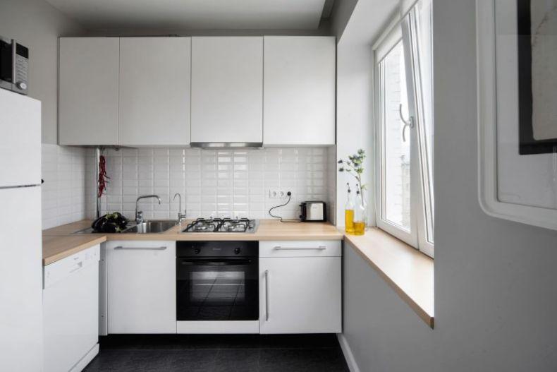 Цвет кухни для маленькой кухни