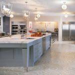 Красивый ремонт на кухне 10