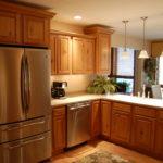 Красивый ремонт на кухне 11