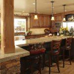 Красивый ремонт на кухне 7
