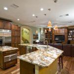 Красивый ремонт на кухне 8
