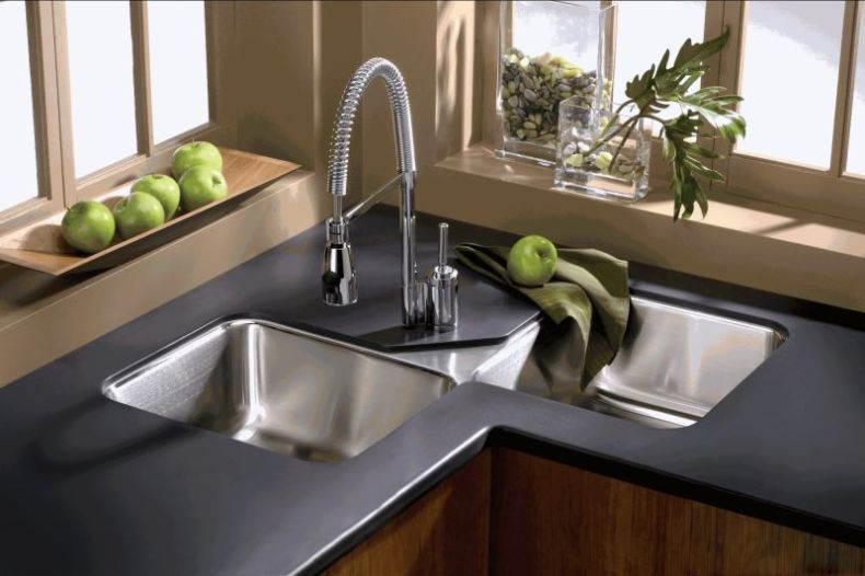 modern-double-corner-kitchen-sinks-design-for-small-kitchen-decorating