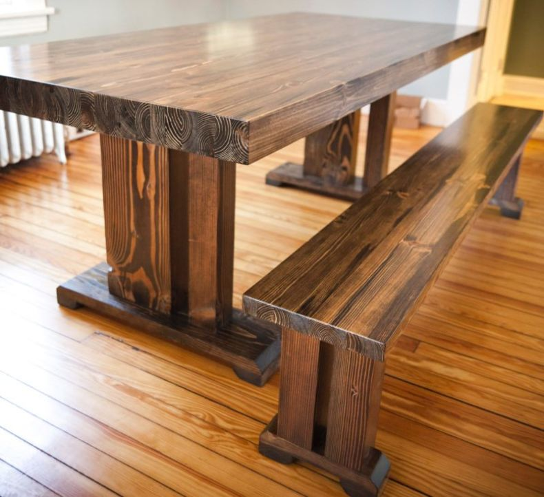 rustic-butcher-block-kitchen-table