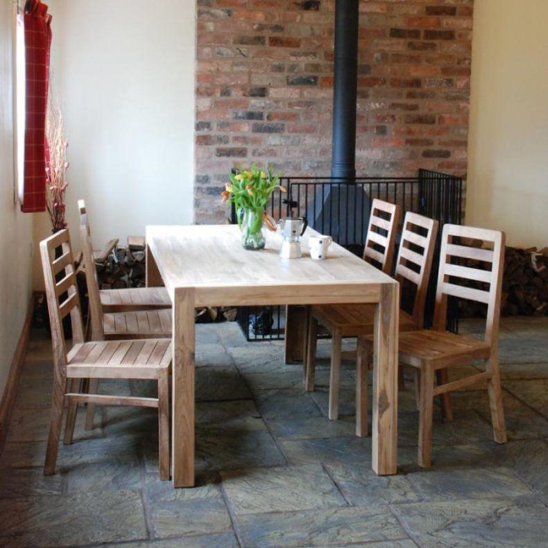 Rustic Kitchen Tables And Chairs Wooden Style Traditional Design